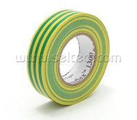 Temflex™  1300, желто-зеленая, универсальная изоляционная лента, 3М